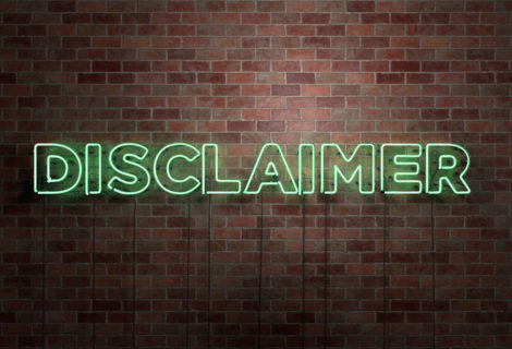 The Court's view on Disclaimers and Exemption Clauses.